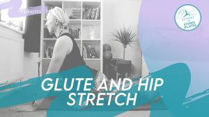 glute hip stretch pilates
