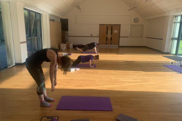 Pilates roll down