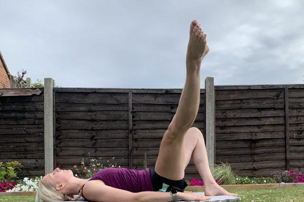 pilates exercises  one leg circle