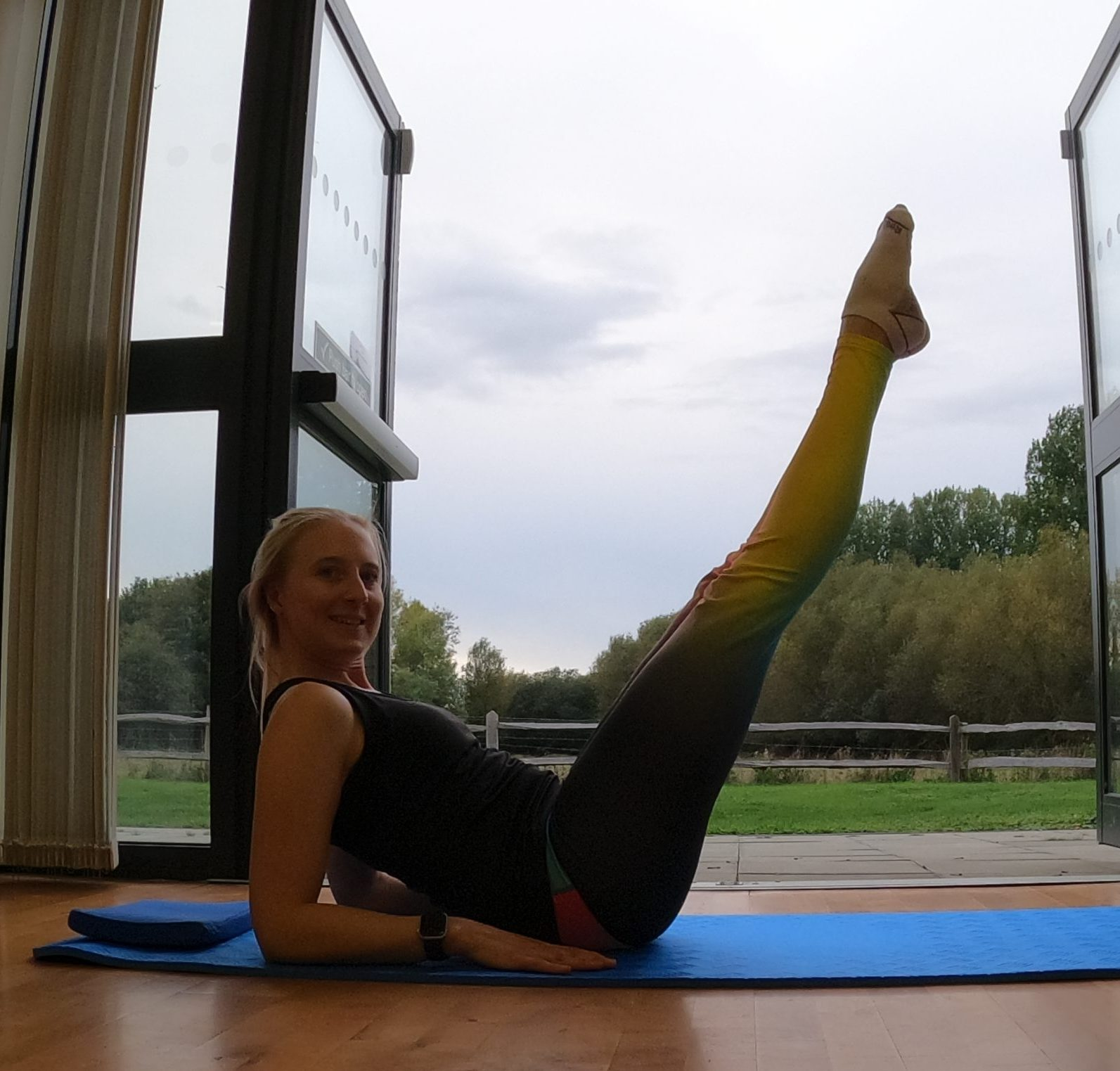 Pilates move of the weekend – Hip Twist