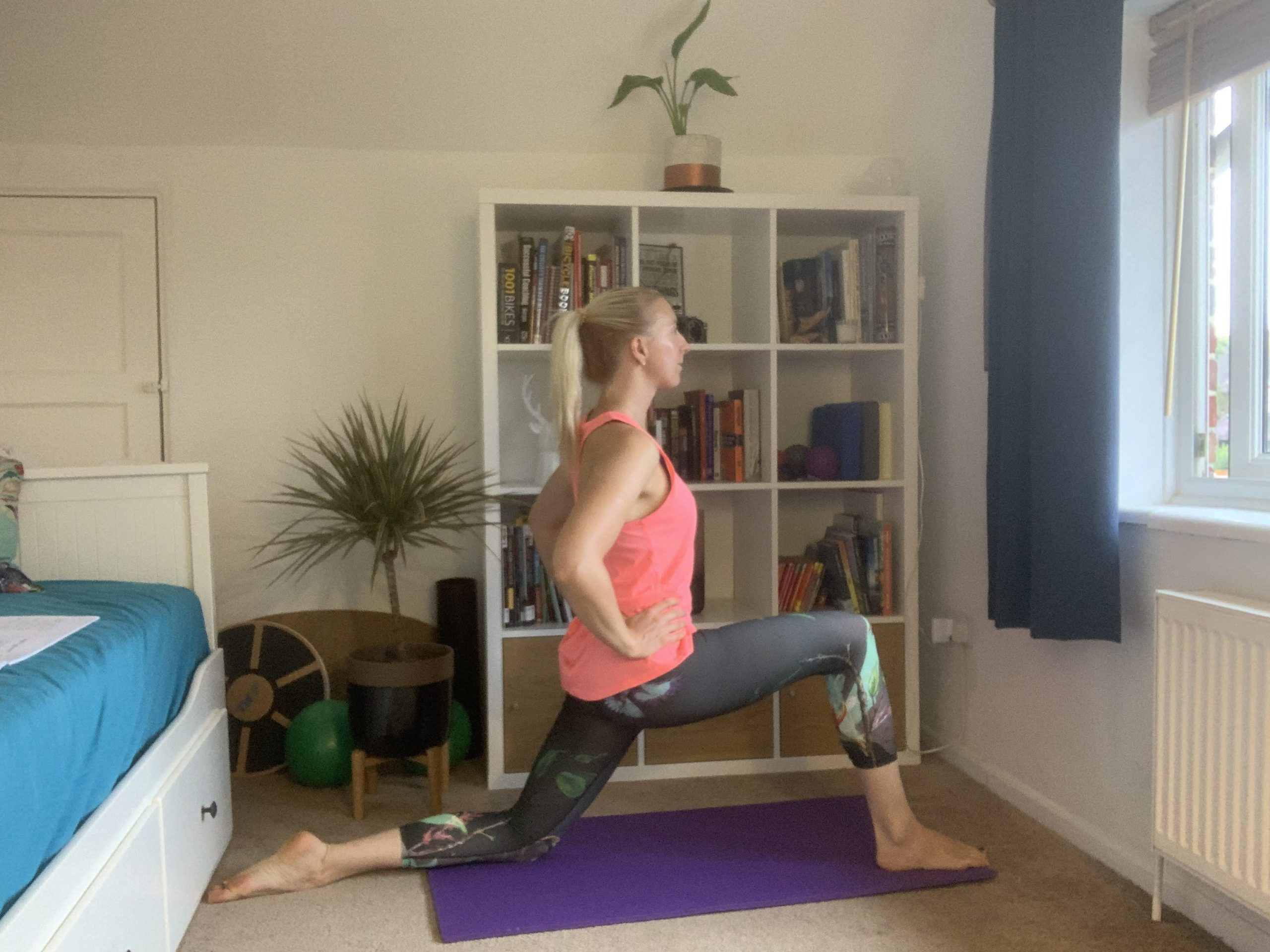 Pilates for tight hips