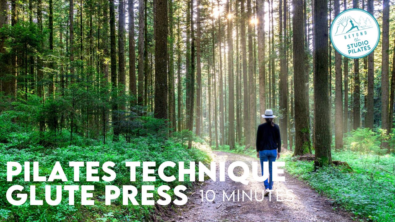 Pilates Technique – Glute Press