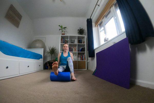 Pilates Stretch - Calf Foam Roll