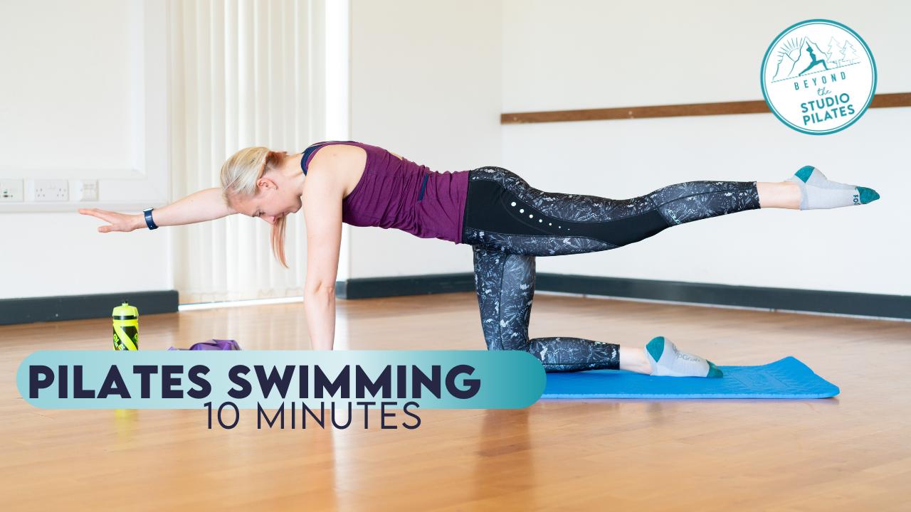 Pilates Technique – Swimming