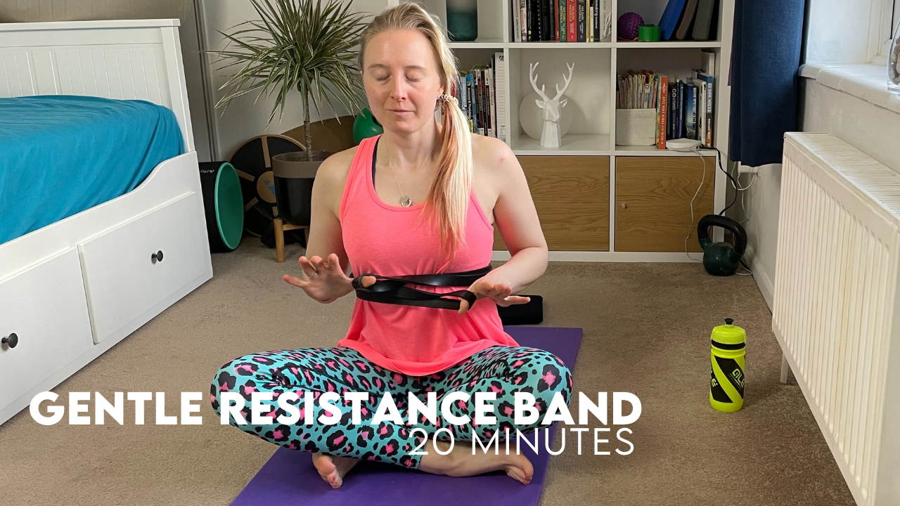 Gentle Resistance Band Workout