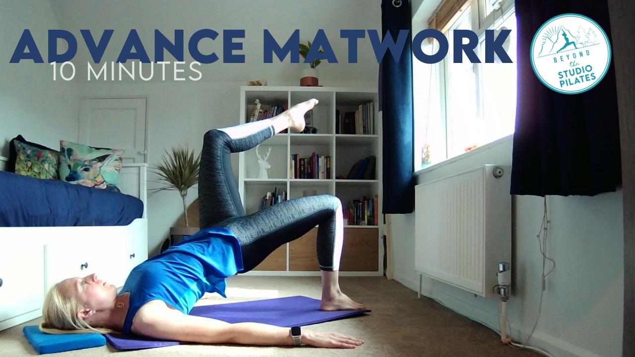 Pilates workout – Advance Pilates