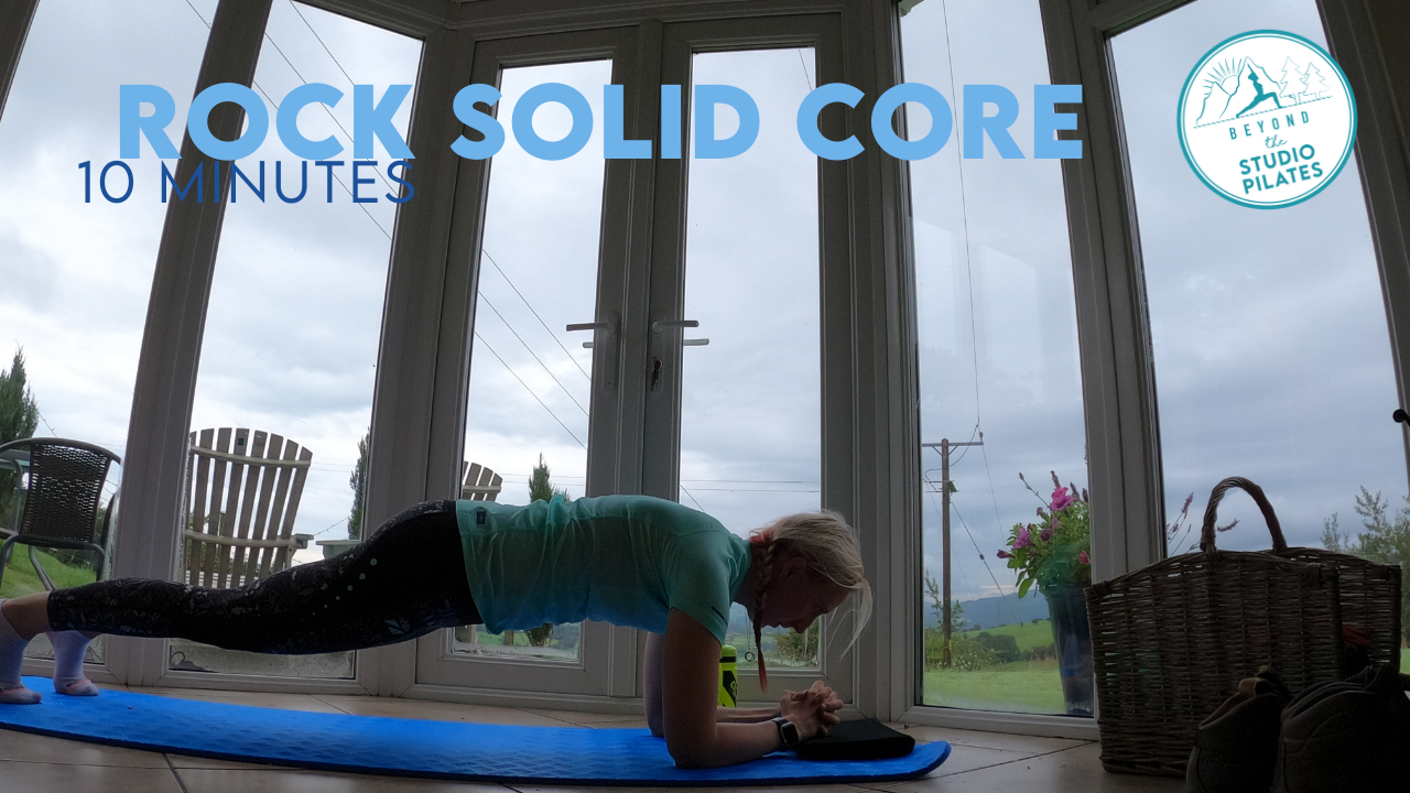 Pilates workout – Rock Solid Core